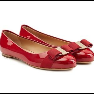 Salvatore Ferragamo bow flats shoes